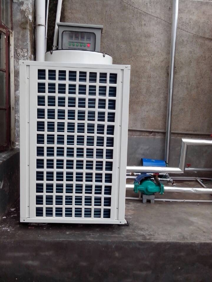 【学校空气能热水器】炬邦中标湖南省横铺中学热水项目